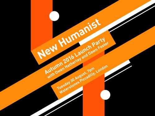 New Humanist – autumn launch party