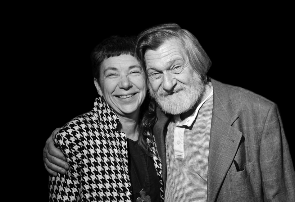 Мария Галина и Аркадий Штыпель